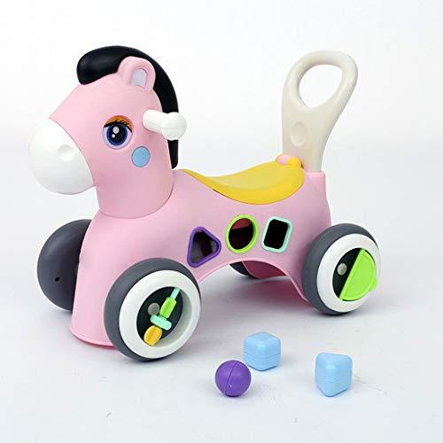 er 1-3 Jahre Yo-yo Anfänger Rutsche Auto Jungen Und Mädchen Pedal Vier-wheeler Baby Twist Auto 52 * 28 * 42cm (Farbe : B#) ()