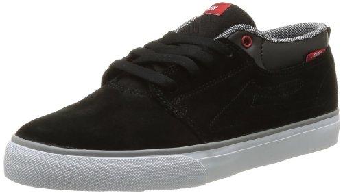 Lakai Marc, Chaussures de skateboard homme Noir (Black/Red Suede)
