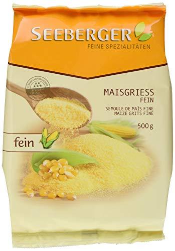 Seeberger Maisgrieß fein (Polenta), 9er Pack (9 x 500 g Packung)