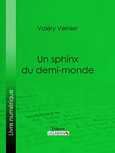 Livres Un sphinx du demi-monde epub, pdf