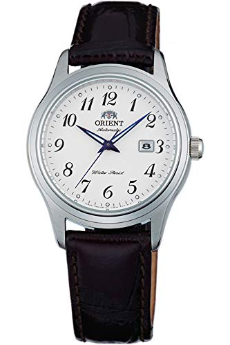 Orient Womens Analogue Automatic Watch with Leather Strap FNR1Q00BW0