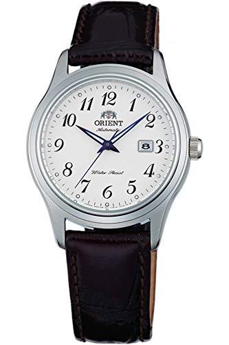 Orient Orologio Analogico Automatico Donna con Cinturino in Pelle FNR1Q00BW0