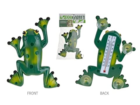 Progarden–Frog Thermometer C/Suction Cups Blister
