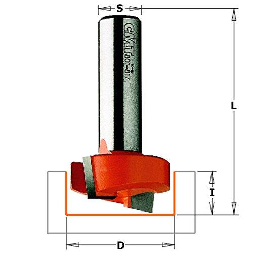 CMT Orange Tools 701.200.11 - Fresa ranurar hm s 6