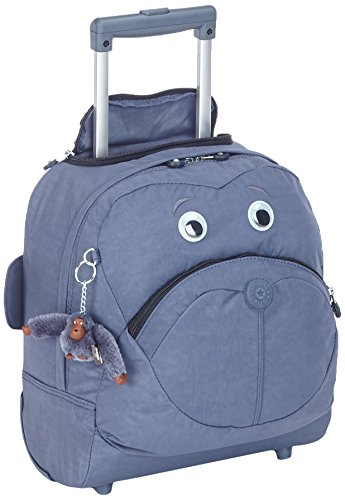 Kipling BIG WHEELY Cartella, 34 cm, 16.5 liters, Blu (True Jeans)