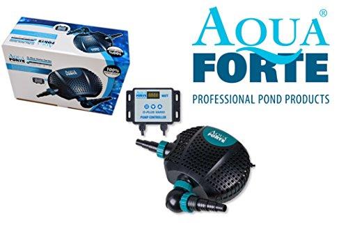 Aqua Forte Pompe de Bassin 40 x 30 x 18 cm Noir