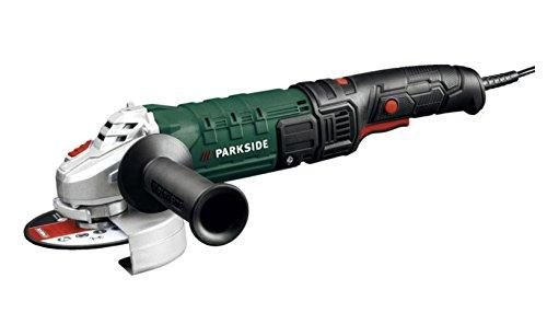 Preisvergleich Produktbild PARKSIDE® Winkelschleifer PWS 125 D3 (Stufenlos regelbare Drehzahl, 125 mm Scheiben-Ø, 1200 W mit Trennscheibe und Ersatzkohlebürsten)