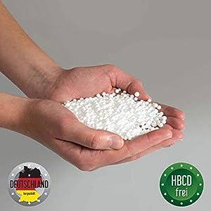 Bruni FILLcloud Sitzsack-Nachfüllpack (50 l) – lebensmittelechte EPS-Perlen aus Deutschland, Nachfüllpack mit Füllhilfe…