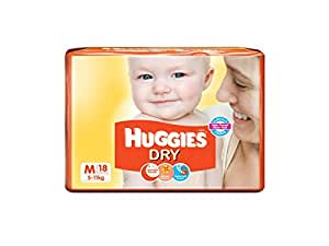 Huggies New Dry Diapers Medium (18 Count)