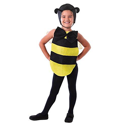 Bristol Novelty ds173Bumble Bee Kleid Up Kit, eine Größe