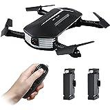 Mini Drone, Kingtoys JJR / C H37 BABY ELFIE WIFI FPV Drone RC, 720P Cámara, G-Sensor, Modo Belleza, Alto Modo de Espera Selfie Cámara RC Quadcopter(2Pcs batería)