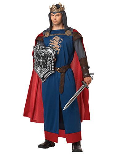 Richard Kostüm Löwenherz König - Herren Kostüm Richard Löwenherz