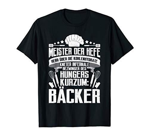 er Konditor Sprüche T-Shirt ()