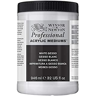 Winsor & Newton 946ml White Gesso Professional Acrylic Medium