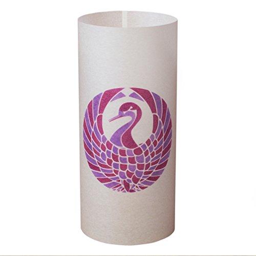 TSURU NO MARU - Japanische Lampe Handgefertigt - Licht, Lampenschirm, Laterne, Shoji Lampe - Japanische Möbel - Asiatische, Orientalische Lampe (Shoji-laterne Japanische)