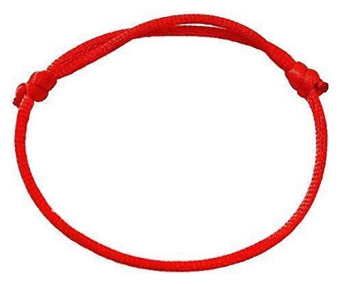 1Armbänder rot Zugschnur, Glück Kabbala Fakten Hand für Erfolg und Glück