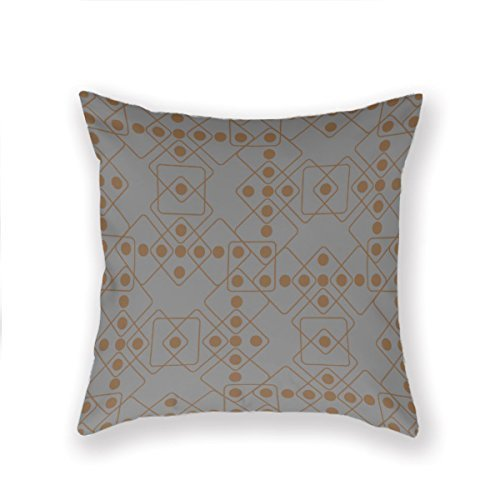 (Newaller Snake Eyes Vegas Polka Dot Roll Cotton and Polyester Throw Pillow Case Shell Home Decorative Cushion Cover 18x18 inches (Two Sides))