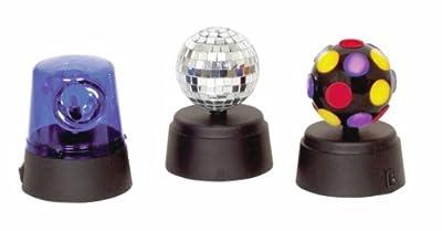 Cheetah G017KA Funki Party Set with Mini Disco Lights