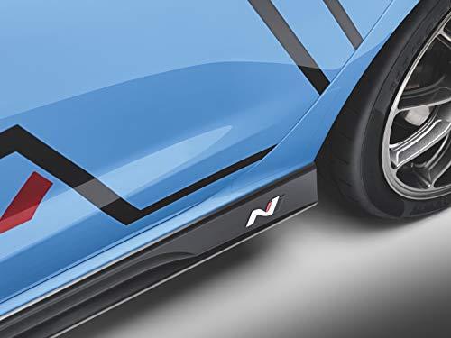 """Hyundai i30 N \""""N\""""- Logo Badge 2 Stück"""