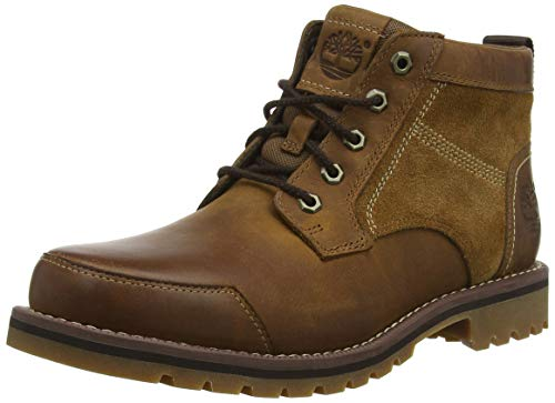 Timberland Men's Larchmont Chukka, Brown (Oakwood FG and Suede), 8 UK 42 EU