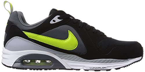 Nike Air Max Trax, Chaussures de running homme Noir (Black/Fierce Green-Dark Grey 006)