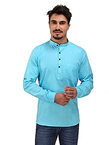 Rajubhai Hargovindas Men's Cotton Short Kurta