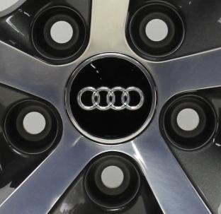 4originale Audi mozzo tappo cerchi ruota assetto 4m0601170b usato  Spedito ovunque in Italia