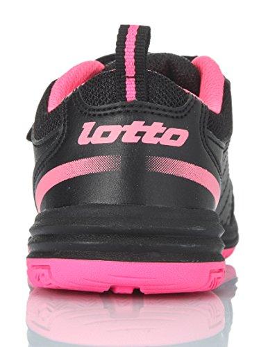 Lotto-Setace Klettverschluss, grau/orange, Schuhe multisport Schwarz / Rosa