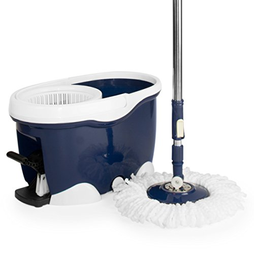 CleanAid BigFoot Mop: Set Spazzolone...