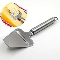 IDEA - Rallador de queso de acero inoxidable para cortar mantequilla de queso y queso para