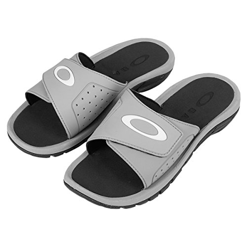 Oakley Super Coil Slide 2.5 Sandalen Stone Grey