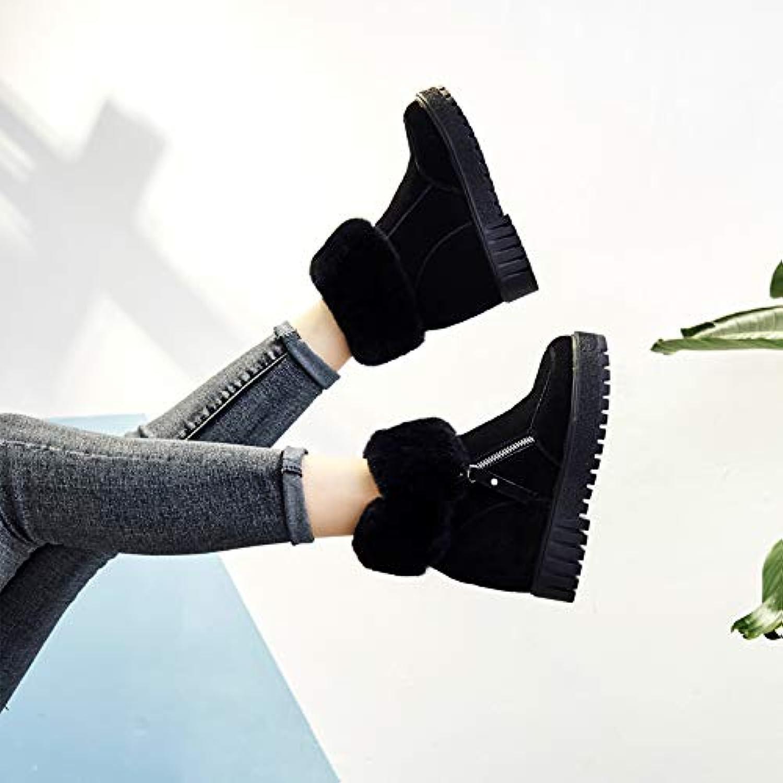 CHENYAJUAN Bottes Hiver Femme Épaissie Chaud Et Moelleux Épaissie Femme des Bottes d'hiver Chaussures De Coton avec Fond Épais.B07JZ31DN1Parent 3ed0e8