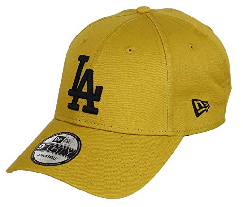 0fae9b03 New Era Los Angeles Dodgers New Era 9forty Adjustable Cap League Essential  Mustard/Black -