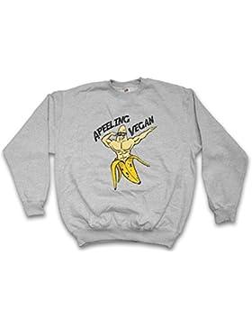 Urban Backwoods Apeeling Vegan Sweatshirt – Vegetariano Banana Tamaños S – 5XL