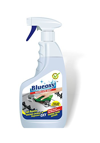Herbo Pest BlueOxy Concentrated Formula with Foam Action All Round Kitchen Cleaner and Degreaser - 500 ml