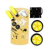 B Blesiya 2WD Roboter Chassis Smart Auto Mit Getriebemotoren mit EMV-Erkennung 1:48 für Arduino Roboter DIY Kits