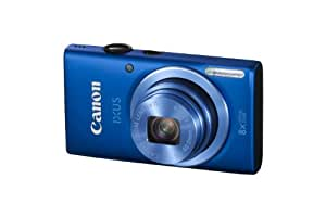 Canon IXUS 132 Digital Camera - Blue (16MP, 28mm Wide Angle, Eco Mode, 8x Optical Zoom) 2.7-Inch LCD