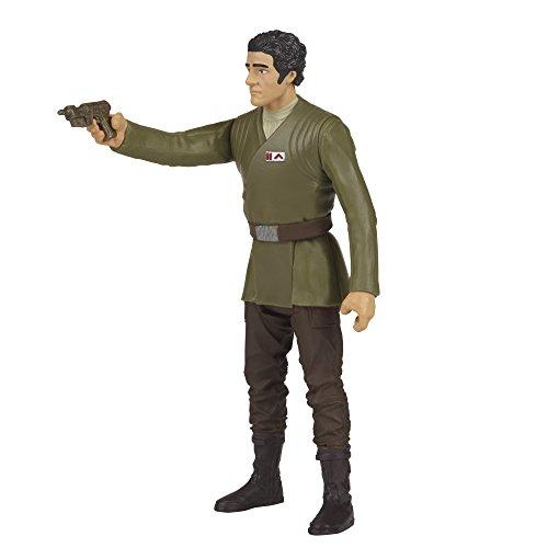 HASBRO Star Wars Serie 1 Deluxe Snowtrooper Officer+Poe Dameron B7073 B8612