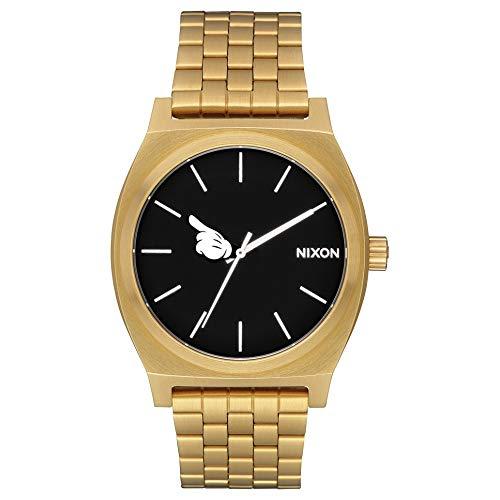 Reloj Nixon A0453097 Mickey Time Teller/Gold/Black