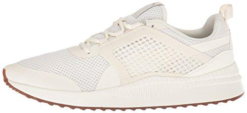 PUMA Men s Pacer Next Net Sneaker  Whisper White Whisper White Whisper White  11 5 M US