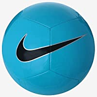 Nike Nk Ptch Train Balón, Hombre, Cyan/Plateado/Negro, S