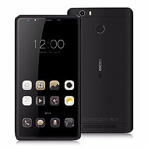 LEAGOO Shark 1 4G LTE 6.0 Inch Android 5.1 Smartphone MTK6753 Octa Core 3GB RAM 16GB ROM 6.0'' FHD 13.0MP 6300mAh Fingerprint Mobile Phone (Black)