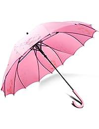 Sturm Regenschirm Stockschirm, Der Einzige Aus Einer Ganzen Plane Hergestellte, 100% Starker Winddicht Regenschutz, Geht Nie Leicht Kaputt ZX popular