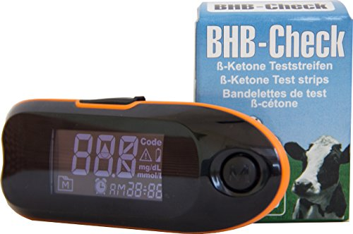 BHB-Check - Keton-Test-System - Ketonkörper Messgerät - inklusive 50 Teststreifen