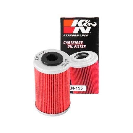450 öl-filter Ktm (KTM 125–200–390Duke/RC -- 690duke-smc-xc 450XC 525-filtre Hat Öl kn155)