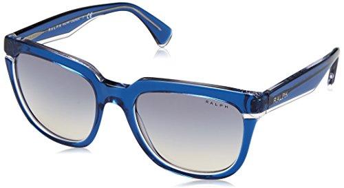 Ralph Lauren Ralph by Damen 0RA5237 16967B 53 Sonnenbrille, Bluette Crystal/Blueegradientmirror, Ralph Lauren Crystal