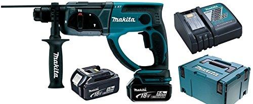 Makita Dhr202Rtj - Martillo ligero 20mm 18v litio