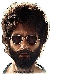 Latest Kabir Singh Sunglasses for Men by Arzonai- Silver-Black