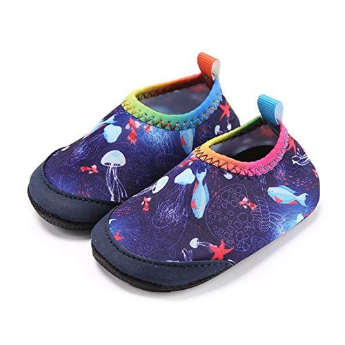 0101f4c0 Laiwodun Zapatos de Agua niño Bebe Zapatos de Natación Descalzo Aqua ...