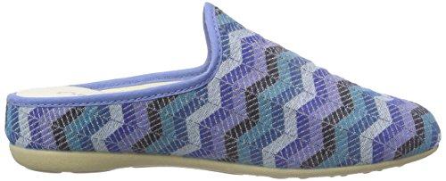 Gabor Home64431 - Pantofole con imbottitura leggera Donna Multicolore (Mehrfarbig (azul))